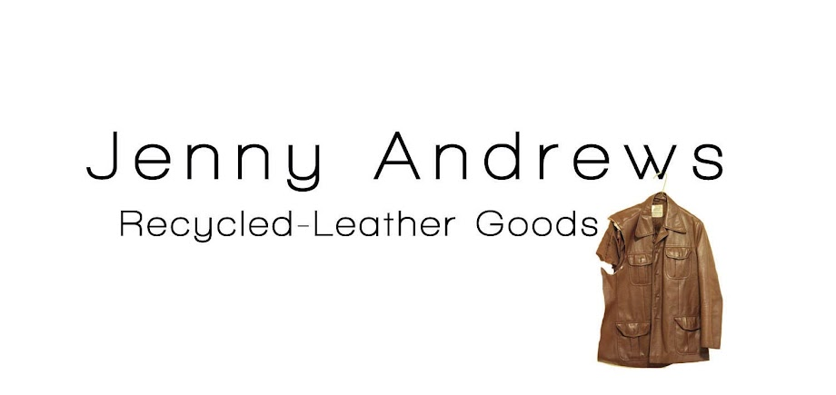 Jenny Andrews Recycled-Leather Goods
