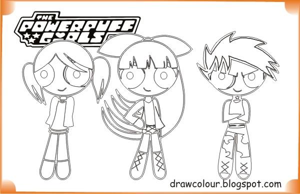 Powerpuff Girls Powerpuff Girls Coloring Pages | Art Paper