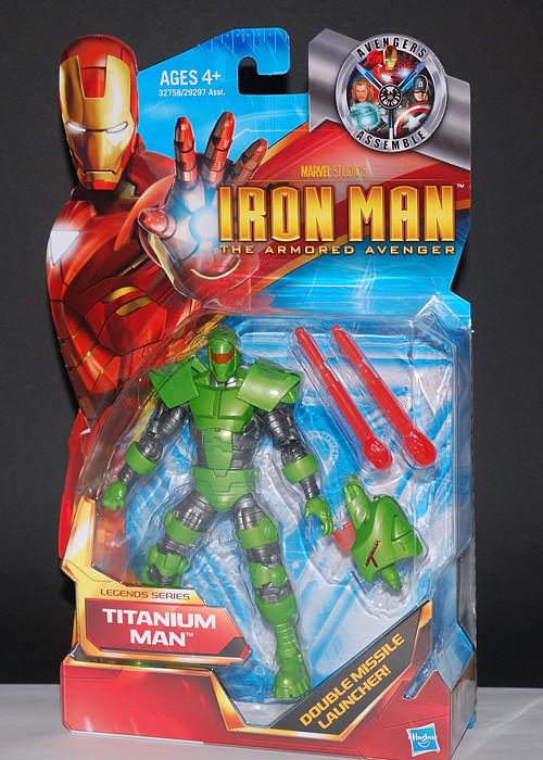 "Marvel legends Ironman movie series Titanium man 6/"" action figure"
