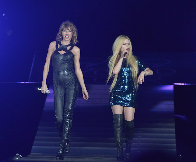 Actress, Singer @ Avril Lavigne & Taylor Swift - The 1989 World Tour Live In San Diego