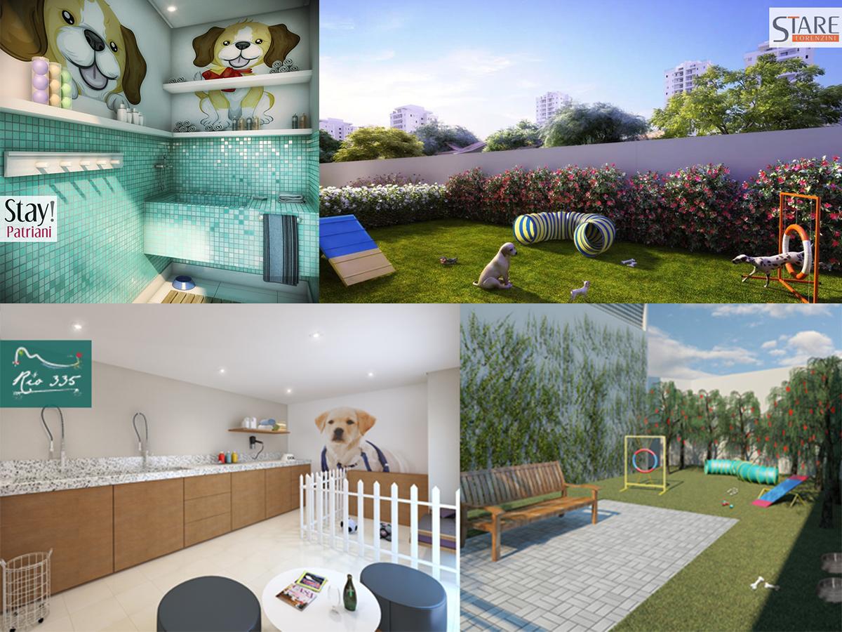 Apartamentos com espaço para animais