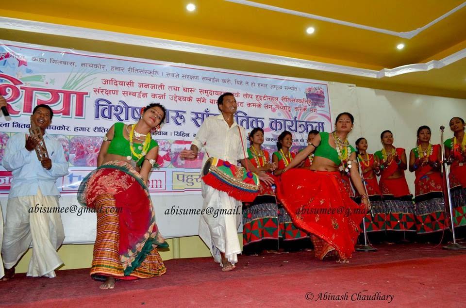 Our Culture, Our pride- Tharu cultural dance. Farwest Nepal