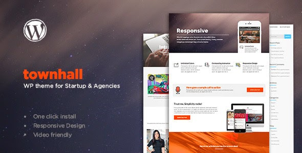 download Townhall - Modern Theme for Startups and Agencies