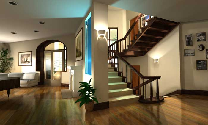 Elegance Of Living Villa Interior Design Ideas