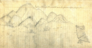 Sketch from H.W. Chittenden journal (SAFR 14299, HDC 91)