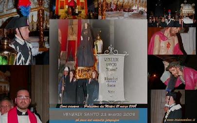 Come eravamo... videoclip fotografico del Venerdì Santo - i Misteri 21 marzo 2008