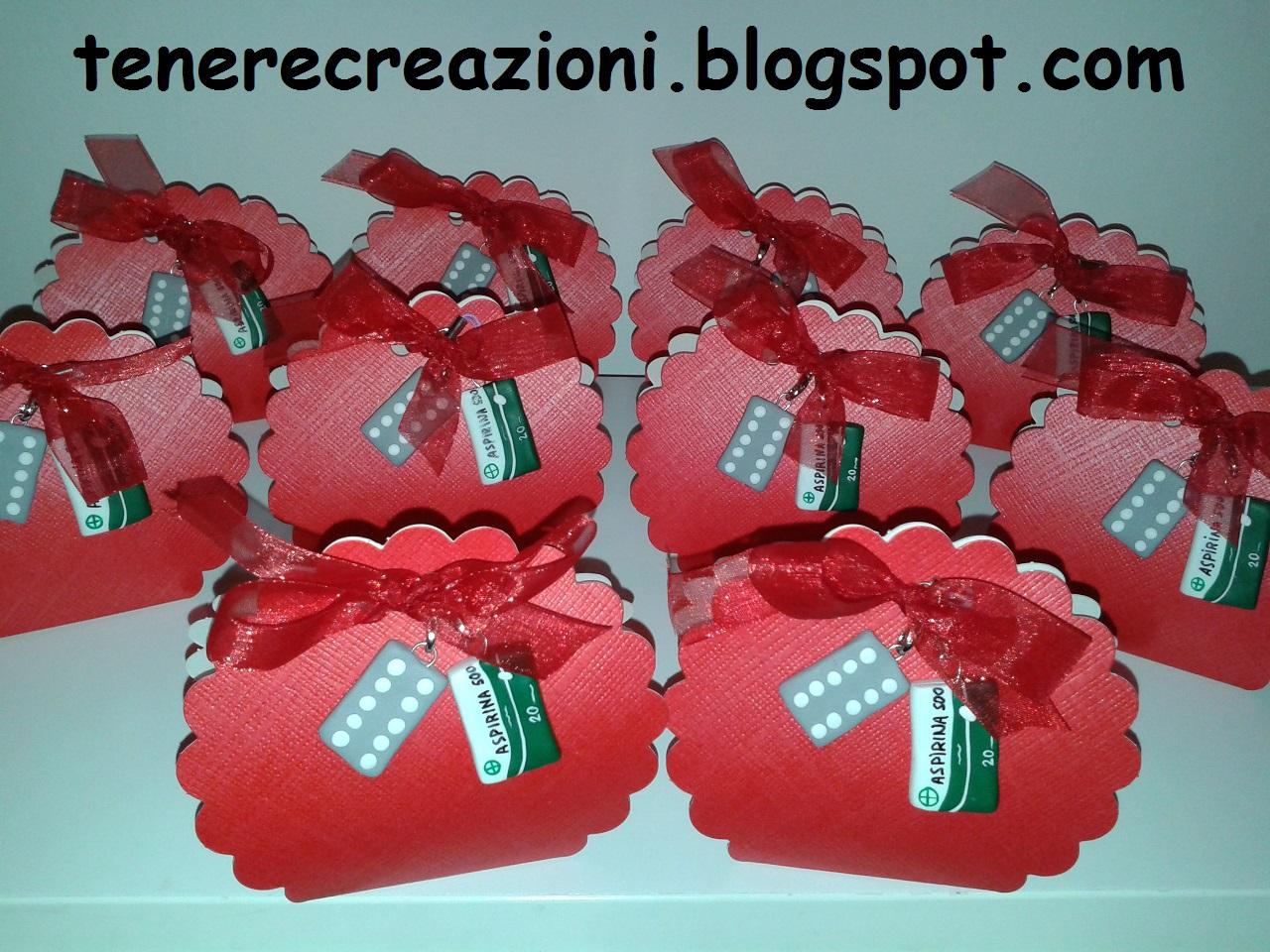 Super BOMBONIERE personalizzate: Bomboniere per Laurea in Farmacia DR27
