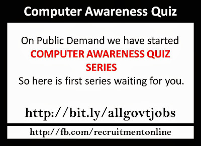 Computer Awareness Quiz