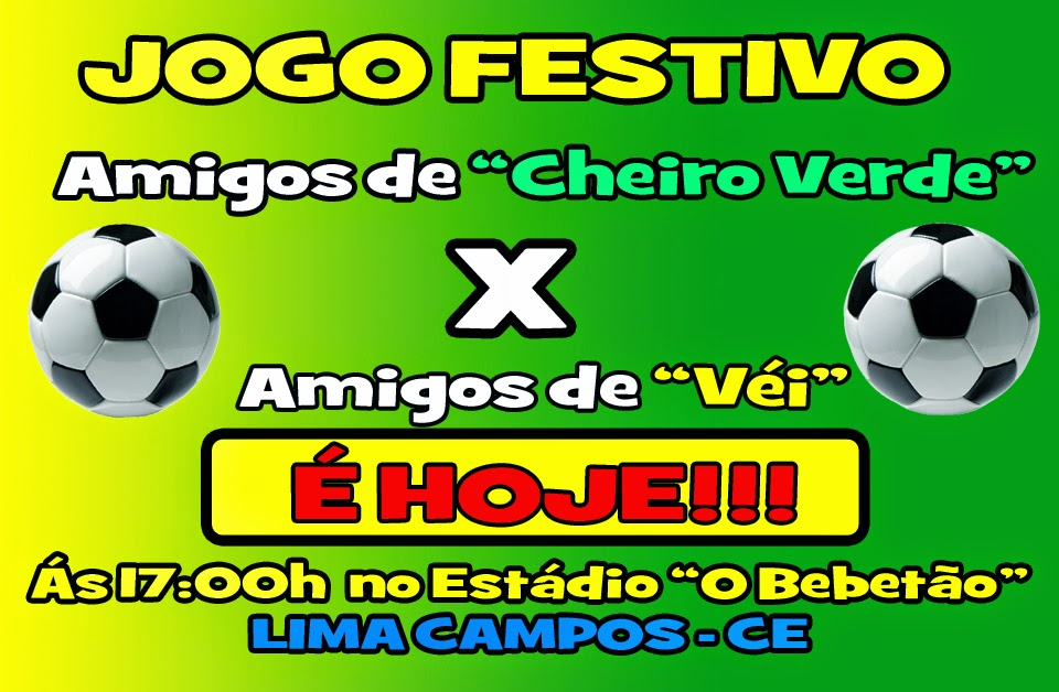JOGO FESTIVO EM LIMA CAMPOS - CEARÁ