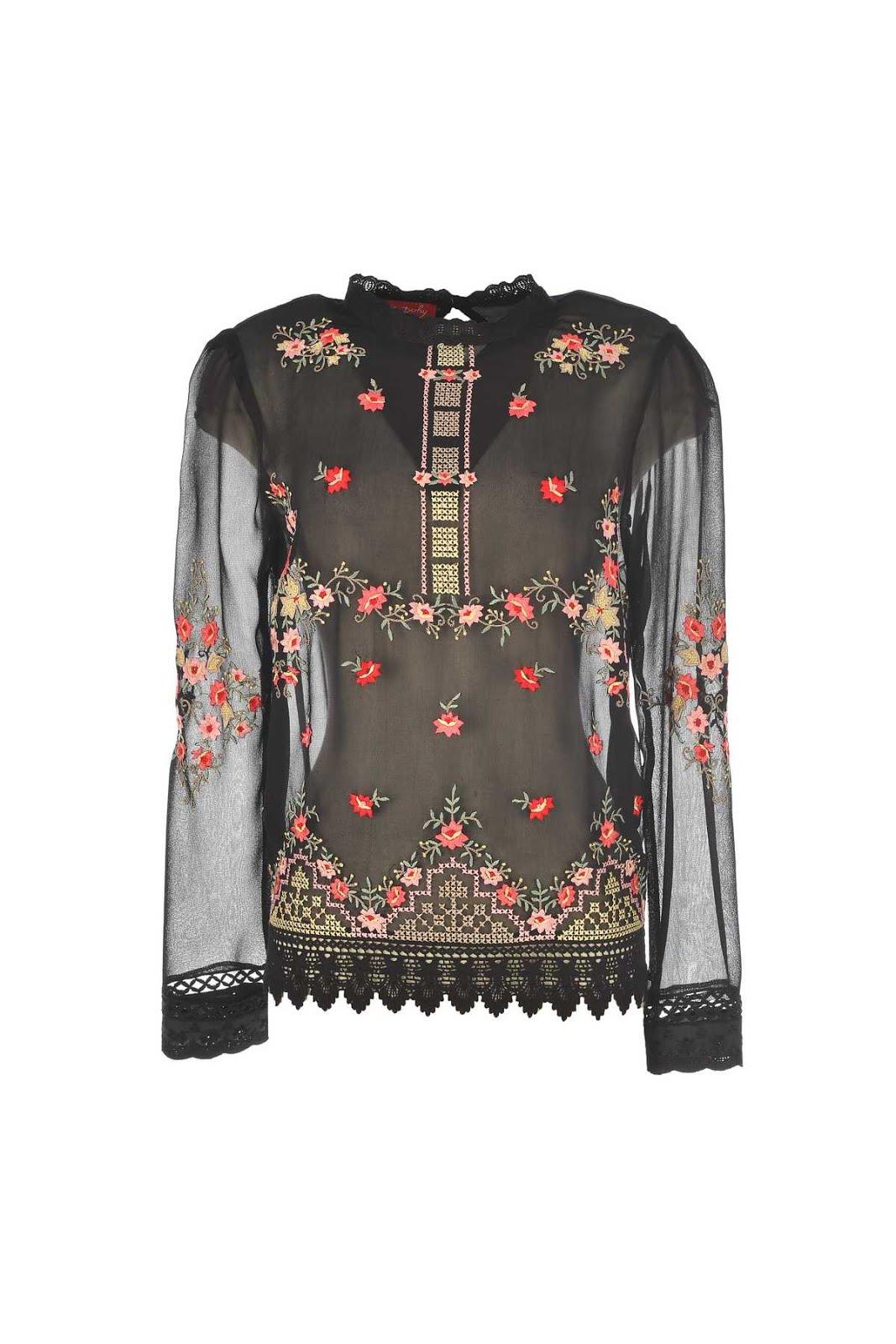 Μπλουζα κεντημενη bohemian style