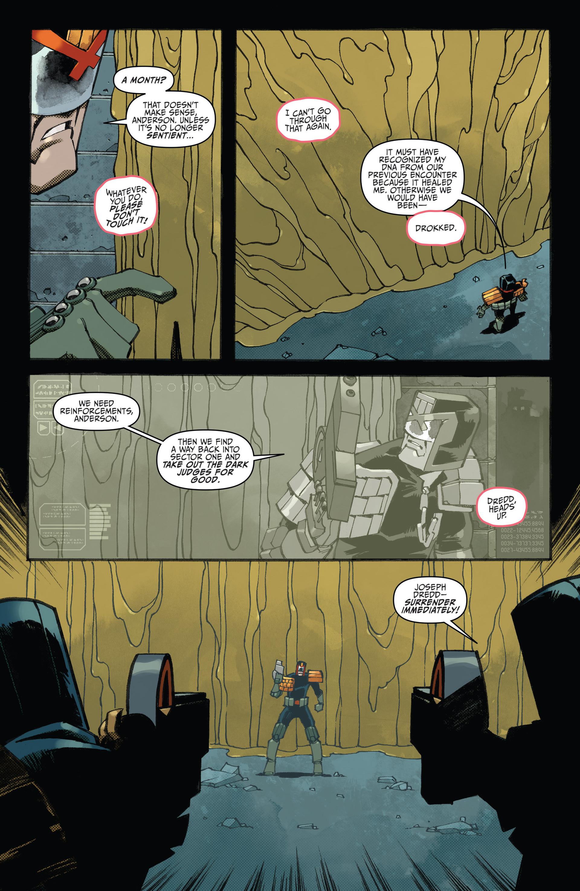 Read online Judge Dredd (2012) comic -  Issue #23 - 7