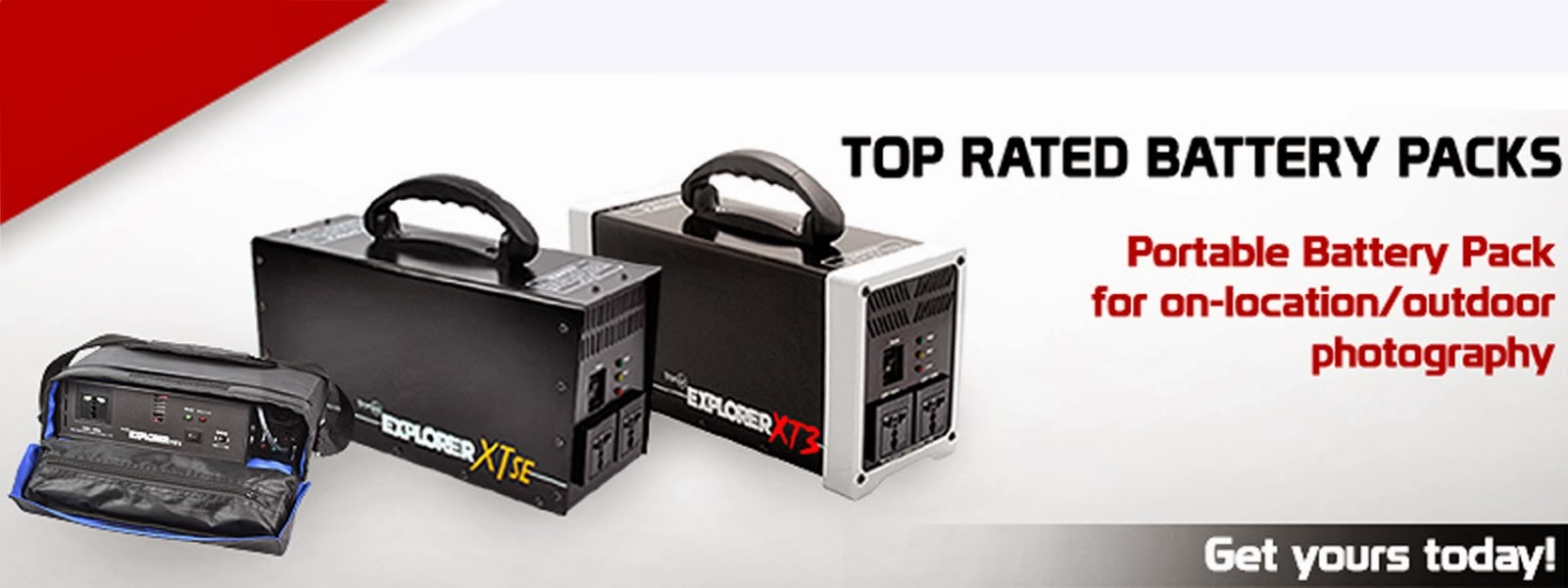 Top Rated Battery Packs from Innovatronix