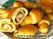 Medové rožky - recept