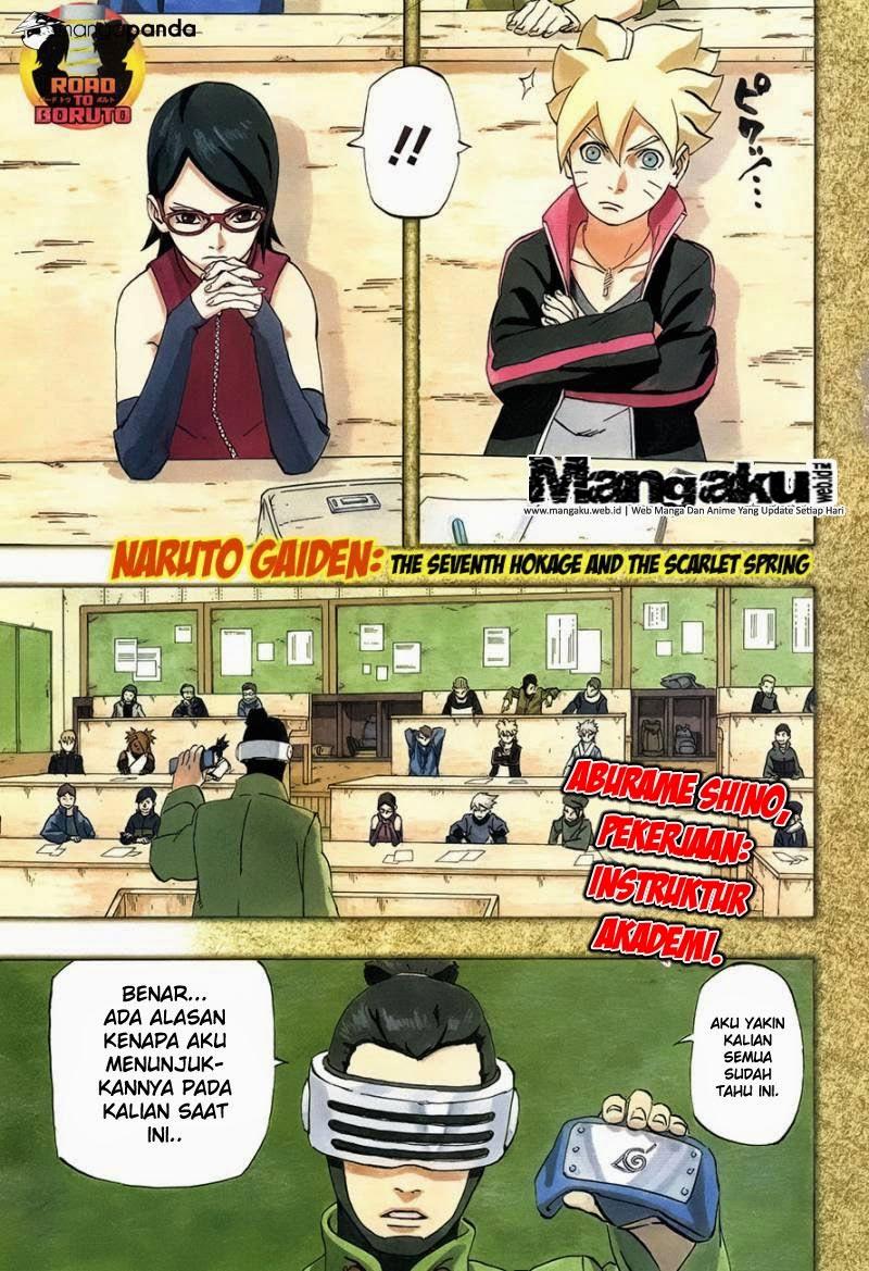 Komik Naruto bahasa Indonesia Episode Hokage ketujuh chapter 701 episode terakhir