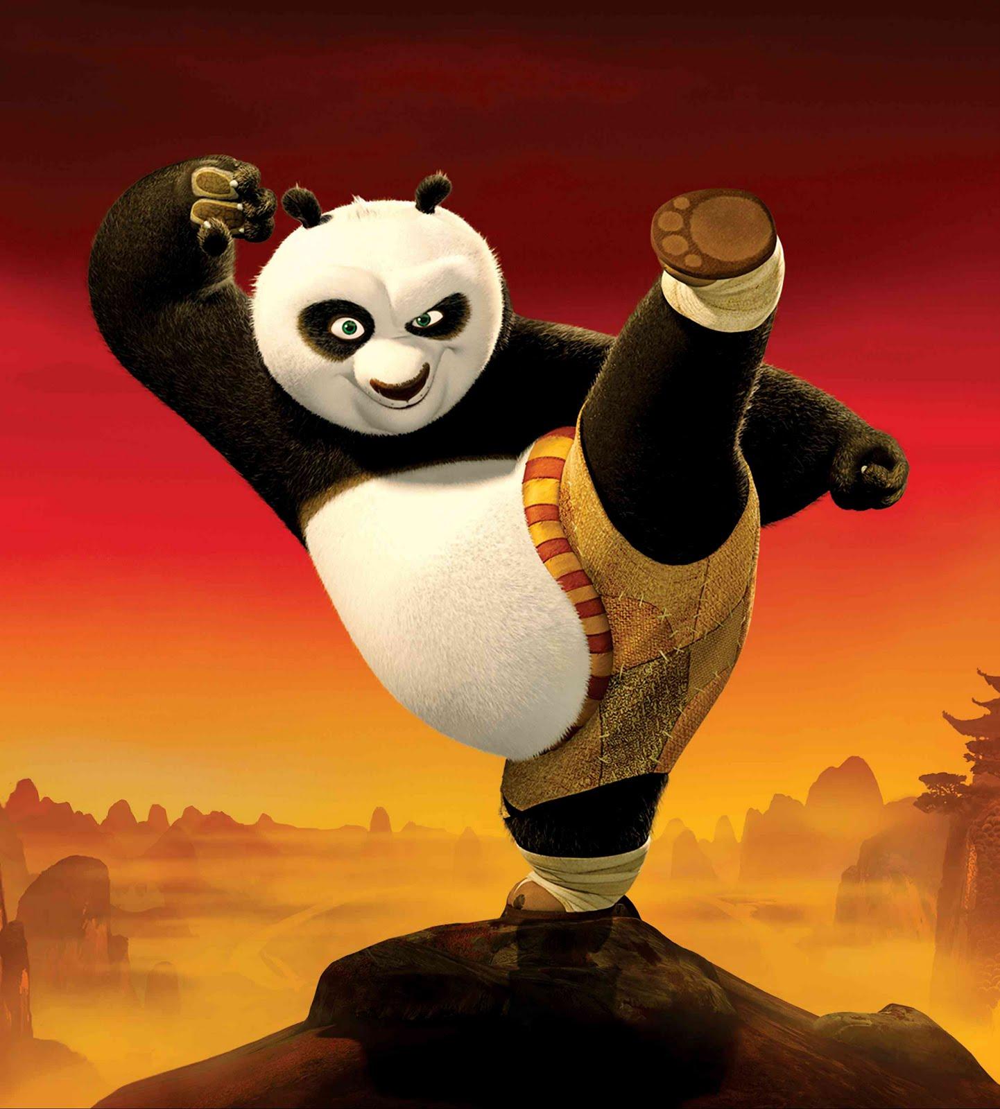 Kung fu panda 2 3d hd poster wallpapers