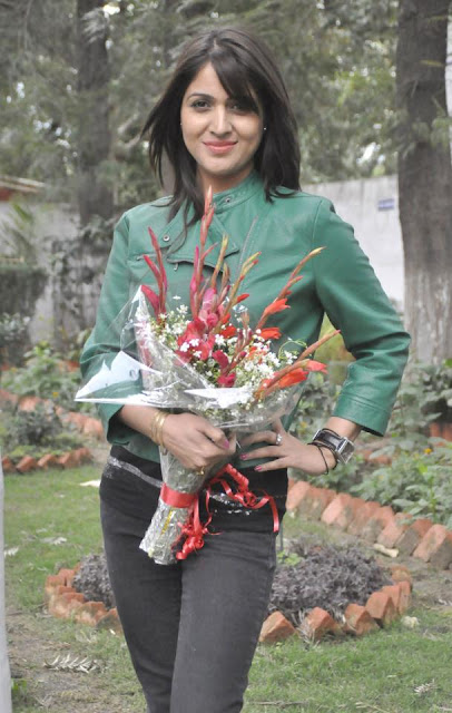 Jonita Doda Spotted In Chandigarh - Photos