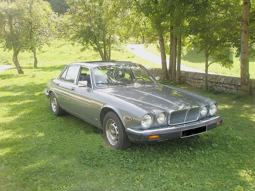 jaguar xj6 limousine 1986 intrieur cuir noir toit ouvrant lectrique - Location Voiture Mariage Franche Comt