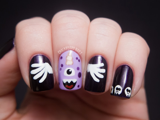 purplepeopleeater 5 - cool Artwork nail