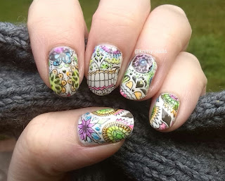 Kandy.Colors Northern Lights neon Jellies and Pet'la Plate Calaveras