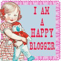 eu sou uma blogueira feliz!