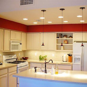 Decoracion actual de moda cocinas con mucho color - Decoracion cortinas cocina ...