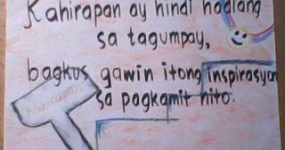 slogan sa kahirapan Essays - largest database of quality sample essays and research papers on  slogan tungkol sa kahirapan slogan tungkol sa buhay - crowdsourced questions .