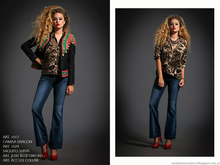 Jeans Oxfords otoño invierno 2015 Sophya