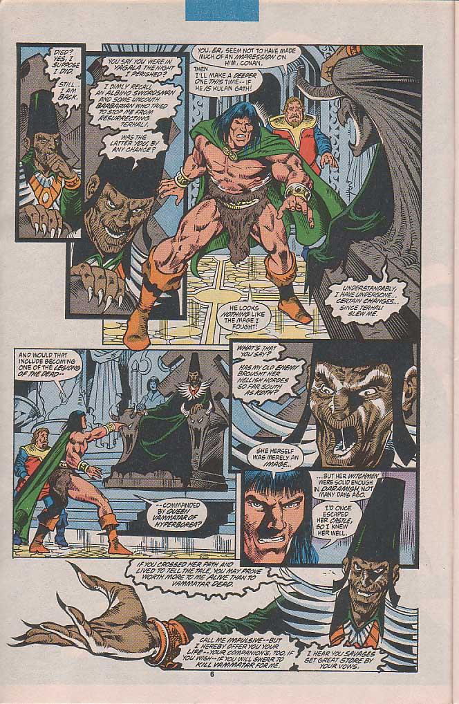 Conan the Barbarian (1970) Issue #253 #265 - English 6