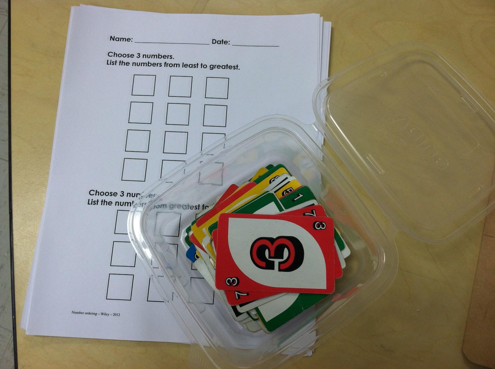 Uno cards (Brick by Brick)