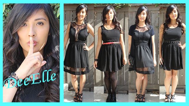Deeellely Pretty Little Liars Inspire Outfits The Little Black