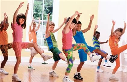 exercitii fizice pentru copii