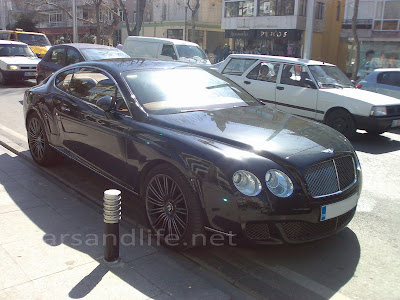 Car of the Day # 14 Bentley Continental GT Speed