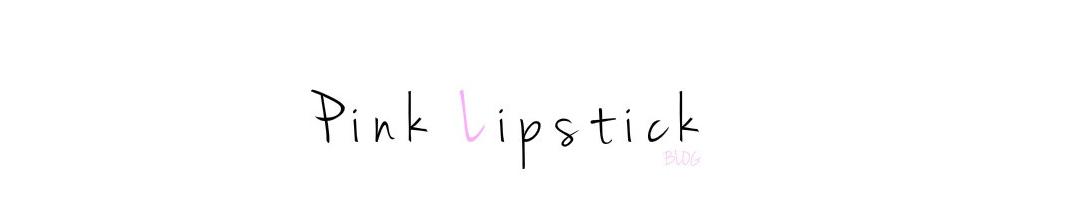 Pink Lipstick Blog