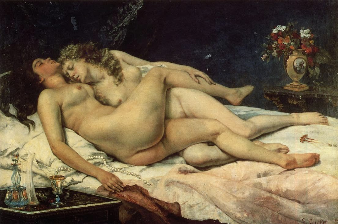 Le sommeil, Gustave Courbet (1866)