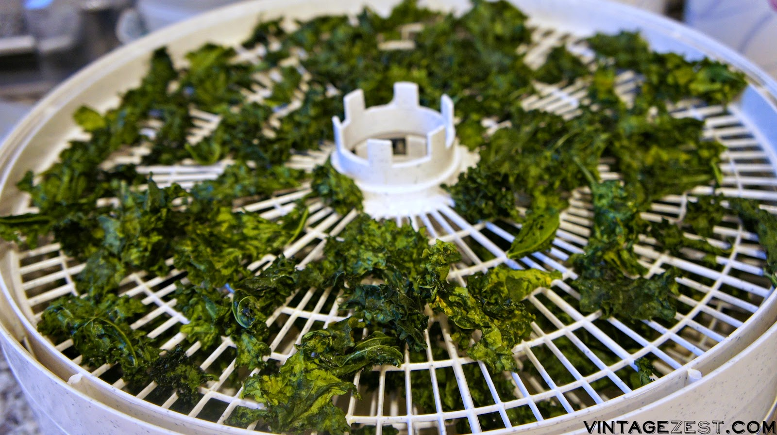 Homemade Kale Chips on Diane's Vintage Zest! #recipe #easy #healthy #vegetarian