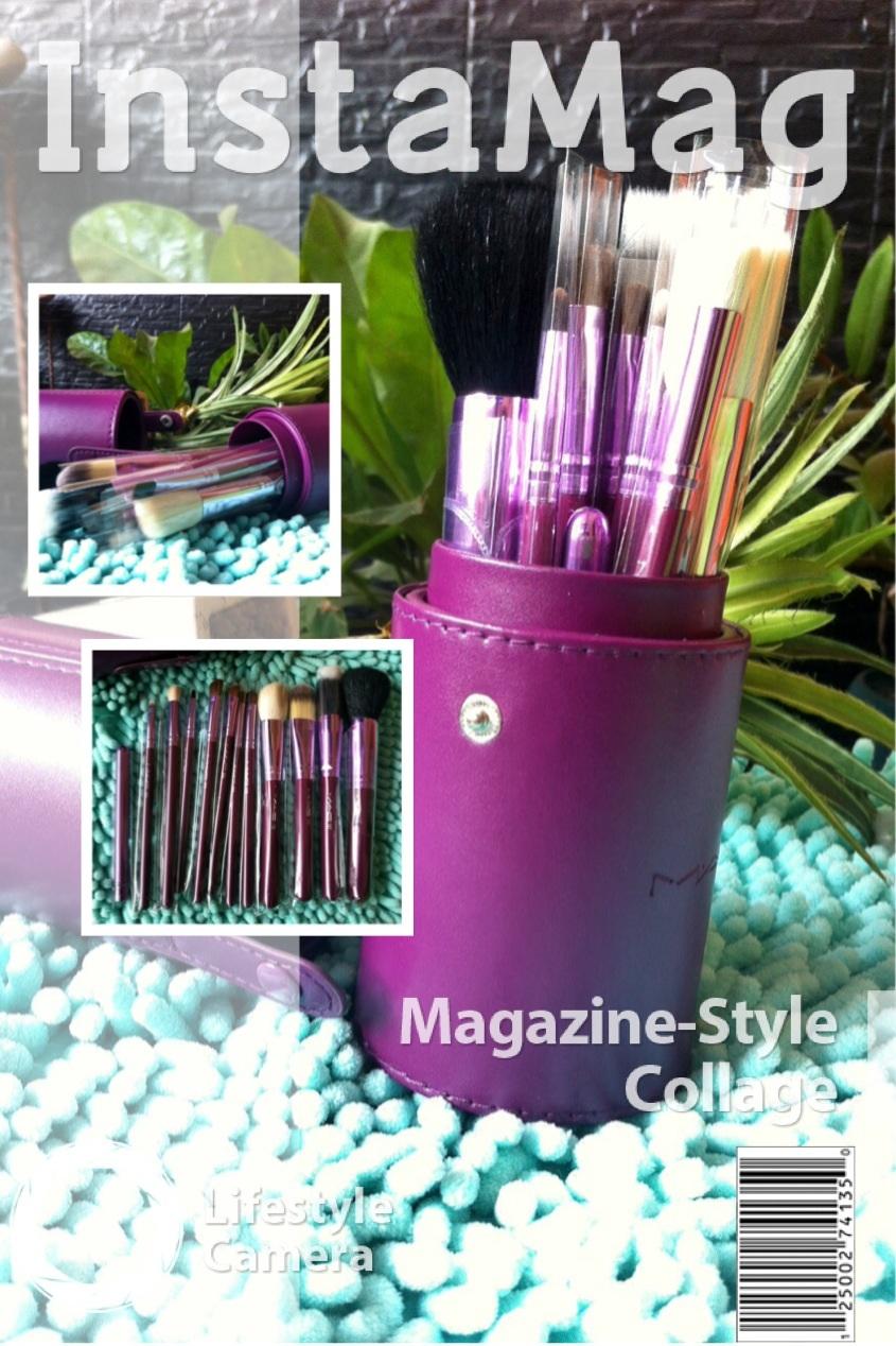 Toko Cahaya Kosmetik Kuas Make Up Mac Brush Isi 12