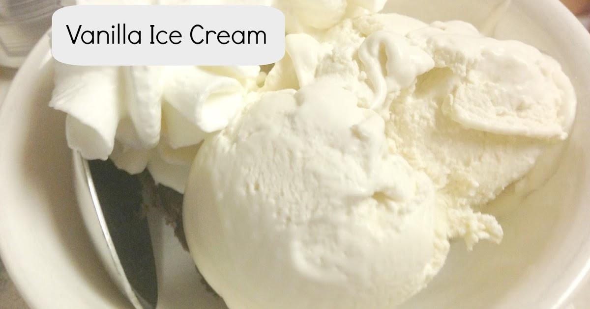 Extraordinary Life Vanilla Ice Cream Paleo Gluten Free