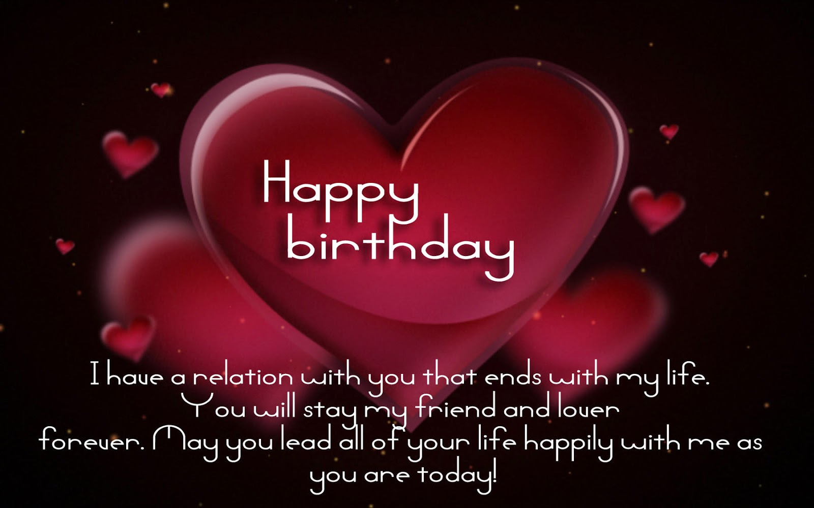 happy birthday to you my love quotes images