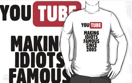 Youtube: Haciendo famosos a los idiotas desde el 2005
