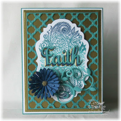 Our Daily Bread Designs Stamp sets: Boho Faith, Our Daily Bread Designs Custom Dies: Boho Background, Vintage Labels, Asters and Leaves, Fancy Foliage, Faith, Hope & Love