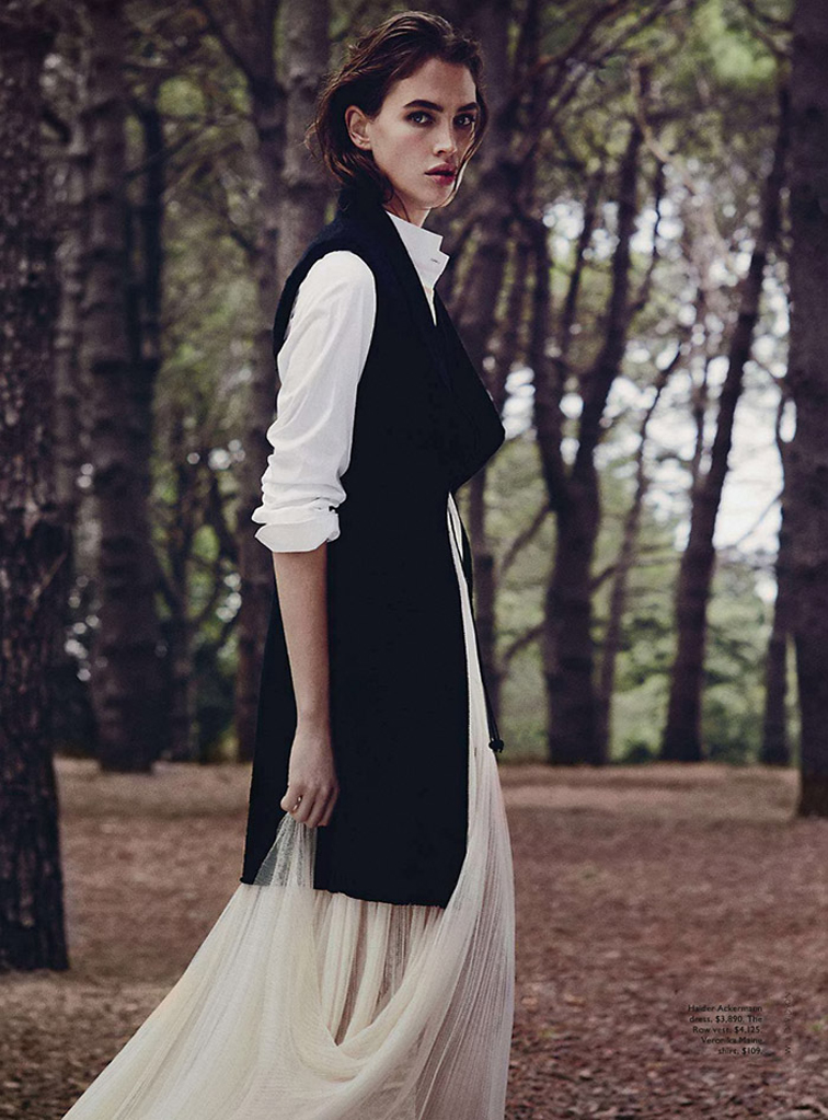 Crista Cober by Will Davidson for Vogue Australia, styled by Christine Centenera