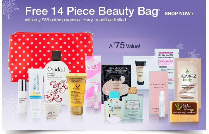 free beauty bag at ulta.com