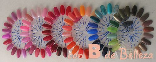 Clear False Nail tips Art Display Practice Wheel