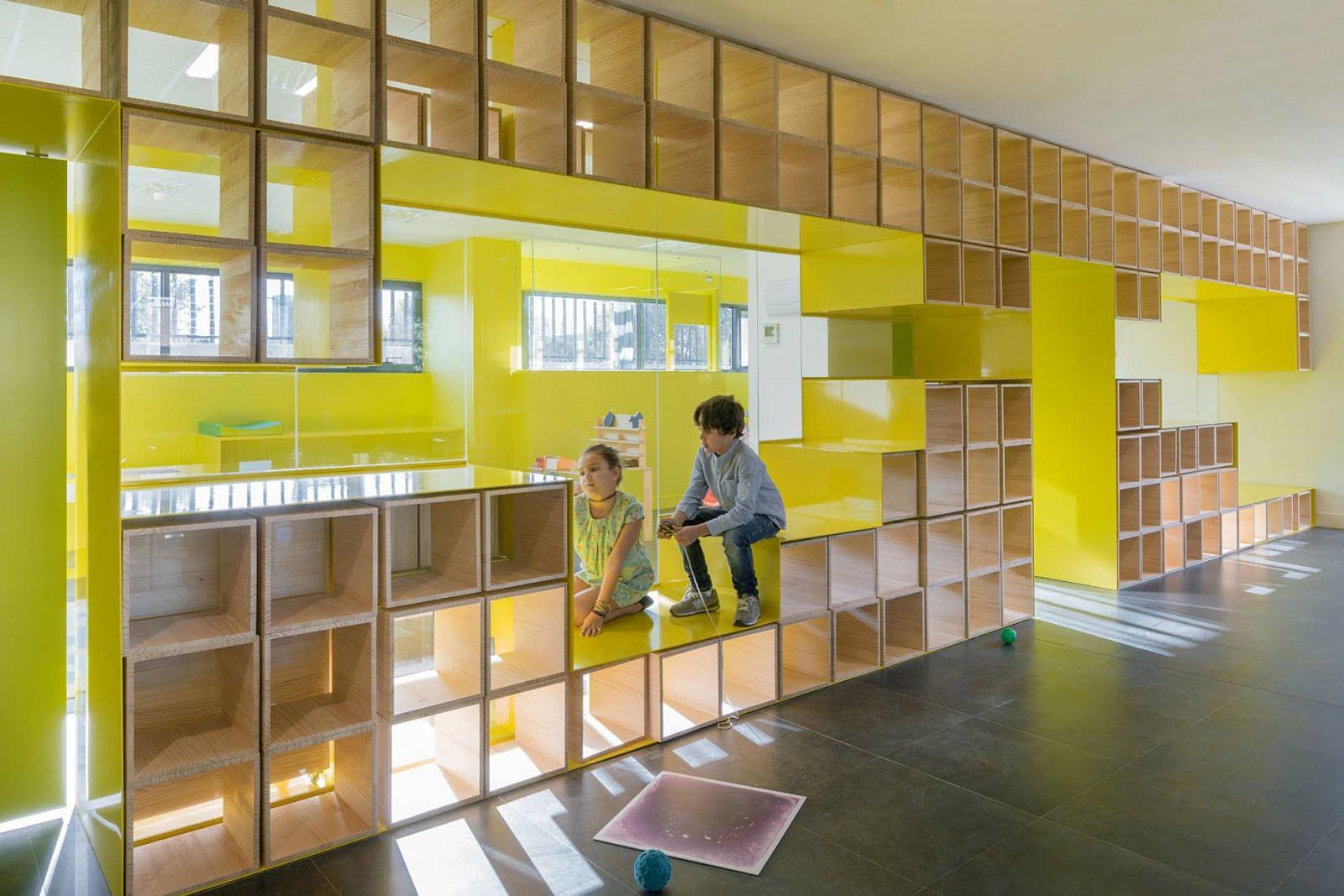 Un Muro Mobiliario Habitable As Definen Los Arquitectos Esta  # Muebles Definicion En Ingles