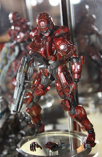 Square Enix Play Arts 2013 Toy Fair Display - HALO 4 Spartan