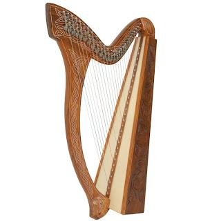 27 String Minstrel Harp