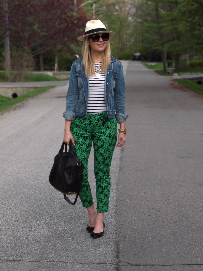 Suburban Faux Pas: Palm Tree Print