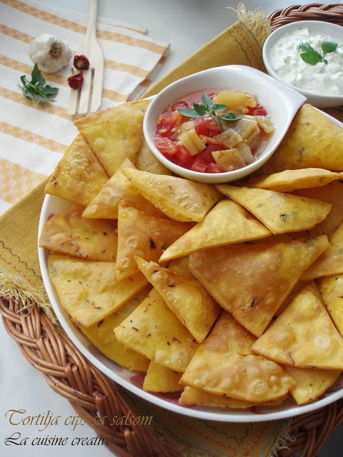 Tortilja čips sa salsom
