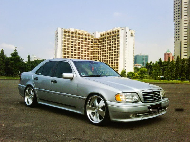 modifikasi mercedes benz c200