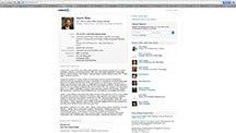 James' Linkedin